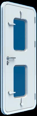 main D01Chgg_exterior close - weatherttight door